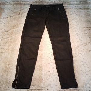 Vintage Guess Black Side Zip Skinny Jeggings